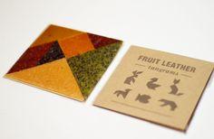 """""""Fruit Leather""""   / #food_design, design culinaire"""