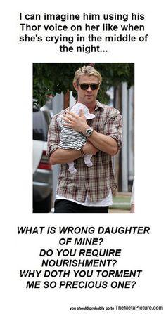 So Chris Hemsworth Has A Baby