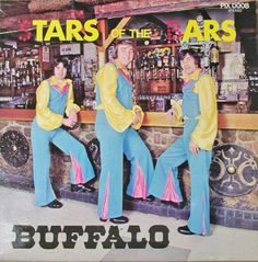 Buffalo - Stars of the Bars - Album Cover. I do not know what this is but it's RAD!