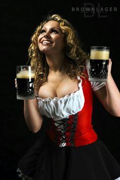 Women Drinking Beer — Beer Mugs and Jugs by ~BrownlagerFilmsPhoto Oktoberfest Outfit, Octoberfest Girls, Beer Maiden, Mugs And Jugs, I Like Beer, Blond, Beer Girl, German Women, German Beer
