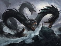 tales of the hydra seamonster