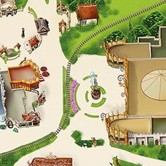 Efteling carnival festivals van binnen plattegrond for Huis tuin en keuken proefjes