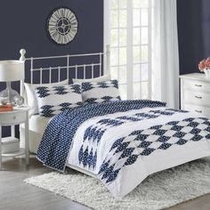 Better Homes and Gardens Peekaboo Pleated Quilt Collection, Multicolor