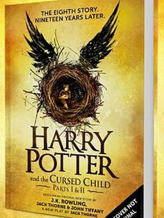 "Good news, Harry Potter fans! J.K. Rowling is turning ""The Cursed Child"" into an 8th official Harry Potter book"
