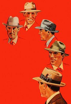 1949 Dunlap hats ad