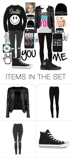"""""""Concert read D"""" by my-happy-little-pill ❤ liked on Polyvore featuring art"""