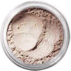 Bareminerals Glimmer (£14) ❤ liked on Polyvore featuring beauty products, makeup, fillers, beauty, cosmetics, fillers - brown, mineral make up, nude beach, womens-fashion and glossier makeup