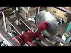 Montando uma serra circular de bancada - YouTube