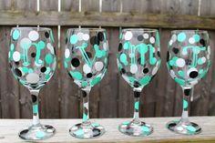 Personalized Wine Glasses $10.00