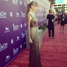 Taylor Swift #RedCarpet #ACMs #STYLAMERICAN