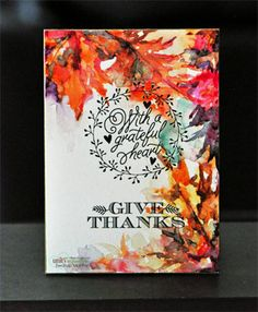 Summer Collapsed into Fall - Kit of the Month - Unity Stamp Co