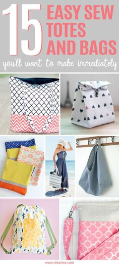 c49bff8f6fab 15 Easy Sew Totes and Bags You ll Want to Make Immediately