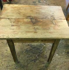 Holztisch 60x80 höhe 69