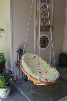 diy indoor swing chair #SwingChair