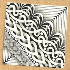 Enthusiastic Artist: SKYE - a new tangle!