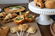 20 creative crescent roll recipes --- I don't think I could ever entertain if it weren't for crescent rolls. The possibilities are endless! Crescent Roll Recipes, Crescent Rolls, Great Recipes, Favorite Recipes, Pasta, Appetizer Recipes, Appetizers, Creative Food, Snacking