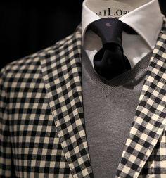 Fancy - - Gingham blazer …