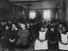 Jacob Riis. Schoolchildren, New York. Preus Museum via Flickr.