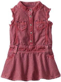 Amazon.com: Diesel Baby-Girls Infant Drendyb Colored Railroad Stripe Denim Dress: Clothing