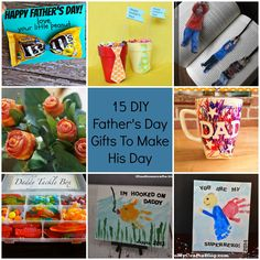 15 DIY Father's Day Gifts To Make His Day fb