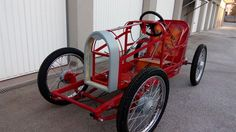Bugatti 35 (again) (Page : CycleKart Tech Forum : CycleKart Forum : The CycleKart Club Tomos Moped, Vespa Scooters, Soap Box Cars, Go Kart Parts, Alfa Romeo Cars, Car Restoration, Bmw Series, Kids Ride On, Vintage Race Car