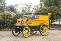 1898 Daimler Twin-Cylinder 6hp Wagonette  Engine no. 1148