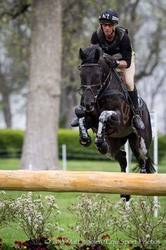 Being a former a 3 day eventer, I miss the excitement not the danger