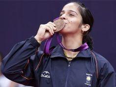 Saina Nehwal  #Badminton_Queen Olympic 2012 bronze medallist Saina