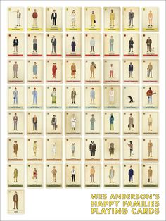 Wes Anderson Cards