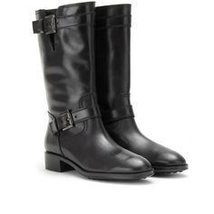 BELTED LEATHER BOOTS  seen @ www.mytheresa.com