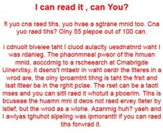 Only 55 out of 100 people can read this.