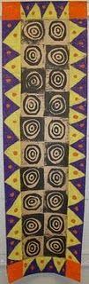African Adinkra Cloth Printmaking/Painting