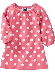 Polka-Dot Sweater Dresses for Baby | Old Navy - Pink Dots - If its a girl...