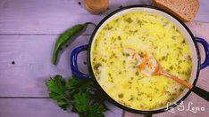 Ciorba Radauteana Vegan Coconut Cake, Best Fruit Salad, Twice Baked Potatoes, Egg Free, Vegan Desserts, Cheeseburger Chowder, Food Videos, Food To Make, Dairy Free