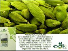 Aceite esencial de Cardamomo.       Cardamom essential oil