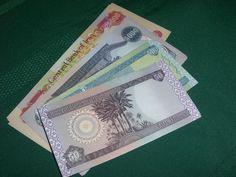 www.buyiraqidinarhere.com Assorted Iraqi Dinar Notes #dinar #iraqidinar