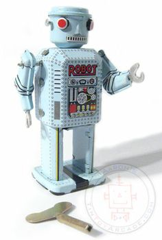 Buy Red Eyes Robot at TinToyArcade.com