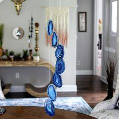 New Item Alert!! Agate Wind Chimes!! In several colors!!