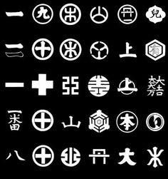 文字紋 on 家紋World