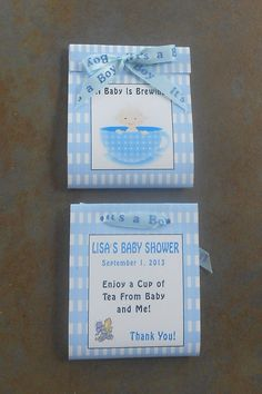 A Baby Is Brewing Baby Boy in Tea Cup Baby by SandycraftsOnline, $15.00