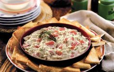Creamy Seafood Newburg - This dish reminded Grandpa of his childhood vacations to the coast of Maine.