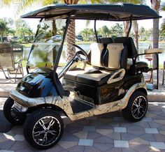 Most golf carts come equipped with factory grade seat cushions that are not always comfortable or stylish. Upgrade your custom golf cart seat cushions today. Golf Carros, Golf Cart Bodies, Golf Cart Seats, Custom Golf Carts, Golf Cart Accessories, Golf Cart Batteries, Golf R, Play Golf, Golf Player