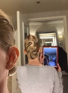 Ballroom hair by Patricia of The Winning Look.