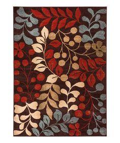 Look at this #zulilyfind! Sydney Warwick Floral Rug by Well Woven #zulilyfinds