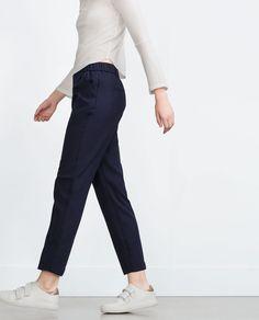 -Smart-Trousers-WOMAN | ZARA United Kingdom