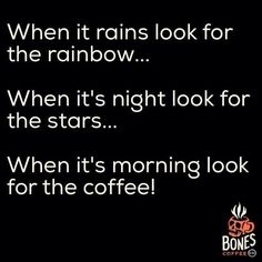 when it's morning...