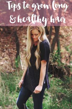 How to grow long healthy hair FAST, easy, and cheap! Ways To Grow Hair, Make Hair Grow, Mom Hairstyles, Pretty Hairstyles, Hairdos, Healthy Blonde Hair, Hair Extensions For Sale, Hair Remedies, Natural Remedies