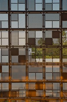 Image 20 of 42 from gallery of TUT House / webe design lab. Photograph by Karthikeyan. Cladding Design, Facade Design, Door Design, Exterior Design, Gate Design, Divider Design, Design Lab, Grill Design, Design Concepts
