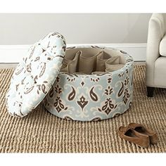 Safavieh Mercer Collection Victoria Shoe Ottoman Light Blue >>> Click on the image for additional details.Note:It is affiliate link to Amazon.