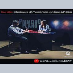 Pastor Tassos Lycurgo é entrevistado no Programa Primeiro Plano do SBT - TV Ponta Negra  https://www.youtube.com/watch?v=wXeIAphfN-Q&sns=tw  #apologetics #apologética